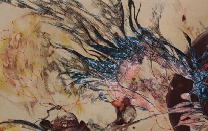 """Title: Detail of """"Ti Kallisti"""""""