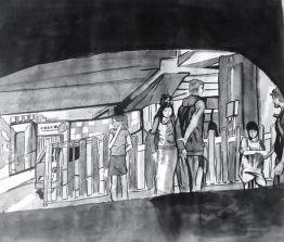 Rachel Ren; Ink on paper; 2015