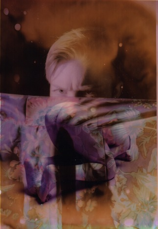 Kurt Hu; Digital photograph prints and acetone; 2015