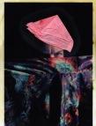 Kurt Hu; Digital photographic print, acetone, facial tissue, acrylic paint; 2015